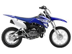 2016 Yamaha TT-R110E