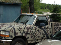 1996 Ford F-150 camo Pickup Truck For Sale, or Trade