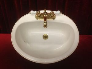 American Standard Bathroom Vanity Sink with Taps