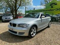 2009 BMW 1 Series 2.0 120D SE 2d 175 BHP Convertible Diesel Manual