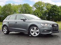 Audi A3 1.6 TDI Sport Sportback 5dr (grey) 2013