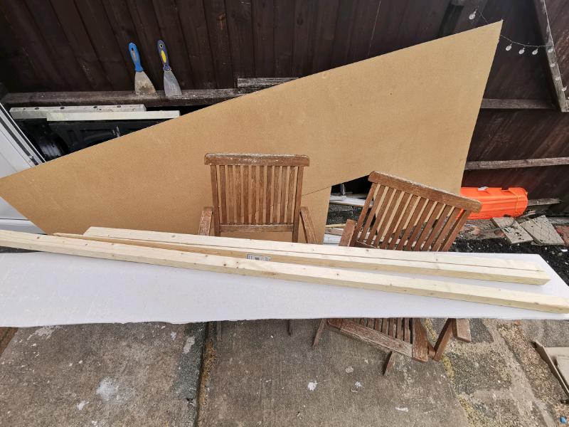 Plywood / plasterboard