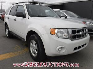 2011 FORD ESCAPE  4D UTILITY AWD