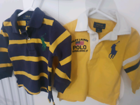 Polo Ralph Lauren Full Sleeve T Shirts for 9 months old.