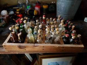 Great addition to any bar. 83 vintage collectible  mini bottles