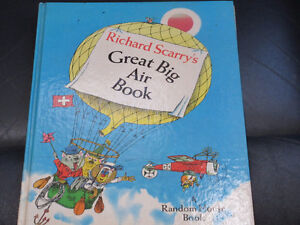 Richard Scarry's Great Big Air Book Hardcover – Feb 12 1971