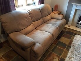 FREE 3 Seater Double Recliner Soda