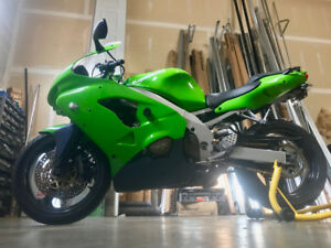98 ZX9R Ninja exc cond, no scrapes or dents never been dropped