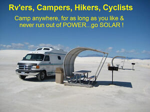 Solar Power Systems...OFF-GRID..cabins,cottages,hunt camps, etc