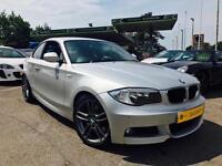 2011 BMW 123d M Sport Twin Turbo **Heated Leather - Pro Nav - Full BMW History**