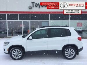 2017 Volkswagen Tiguan Wolfsburg Edition  - Leather Seats - $170