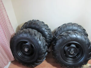 YAMAHA GRIZZLY ATV TIRES/WHEELS