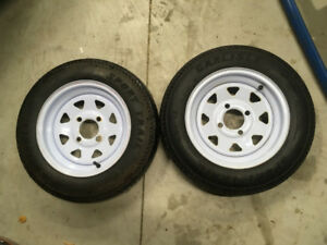 4.80-12 Trailer Tires 4 bolt