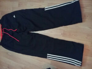 Pantalon d'entrainement Adidas homme gr large