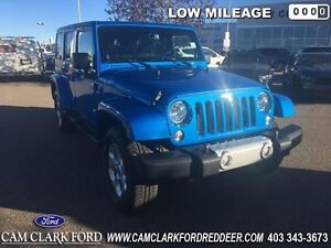 2014 Jeep Wrangler Unlimited Sahara   - Alloy Wheels - Low Milea