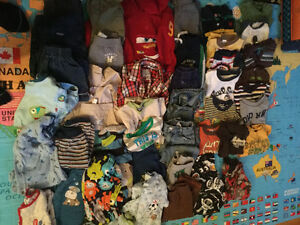 18 Month Boys Clothes - Gently Used
