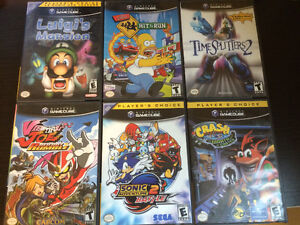 Game Cube, XBOX & PS2 Games