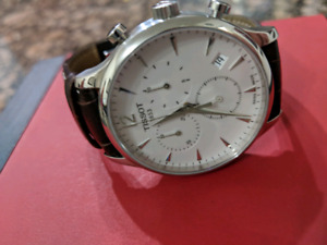 Tissot traditional chroograph watch