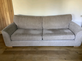 Furniture Village Large 4 seater sofa