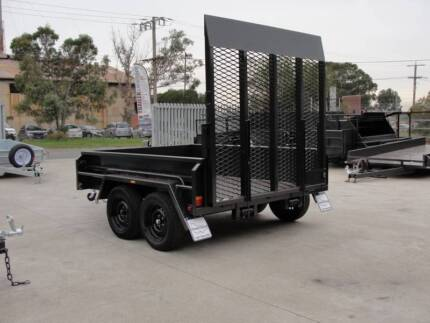 8x6 Plant Trailer - Spring Loaded Drop Down Ramp - 1990kg GVM Thomastown Whittlesea Area Preview