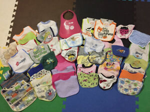 Boy/Girl bib lot