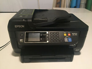 Epson WorkForce WF-2760 4-in-1 Inkjet Multifunction Printer