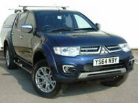 2014 Mitsubishi L200 Double Cab DI D Barbarian 4WD 176Bhp 4 door Pick Up for sale  Doncaster, South Yorkshire