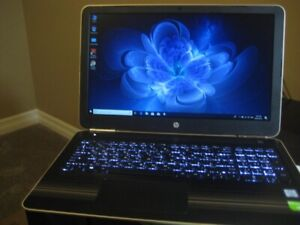 "15"" HP Gaming Laptop, i7, 2TB HDD, 8GB RAM, 4GB GeForce GT 940MX"