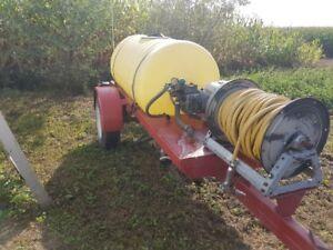 kit complet d'arrosage d'engrais et herbicides avec trailer