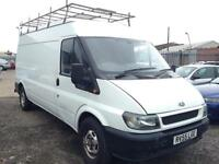 2005/55 Ford Transit 2.4TDI 115PS 350 LWB HIGH ROOF FULL MOT EXCELLENT RUNNER