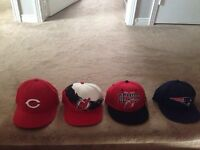 Never worn hats, and etc