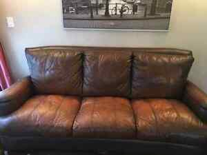 Rustic looking couch and love seat for sale