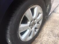 SET OF VECTRA ALLOY WHEELS 16""