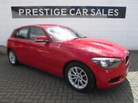 2014 BMW 1 Series 1.6 116d EfficientDynamics Sports Hatch (s/s) 5dr Diesel red M