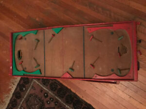 Collectible Vintage Table Hockey Tables