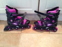 No Fear Inline Roller Skates Size 1-4
