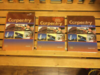 Brand New sixth edition carpentry text book st