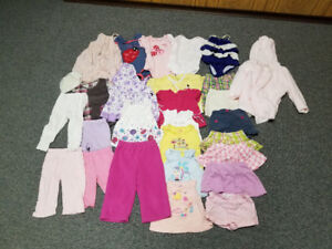 Girls Clothing Size 18- 24 Months