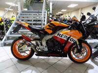 Honda CBR 1000 RR Fireblade 2013 Repsol Livery Racefit exhaust
