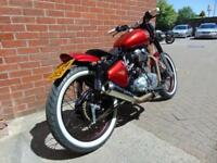 2014 (14) ROYAL ENFIELD BULLET CLASSIC BOBBER CONVERSION