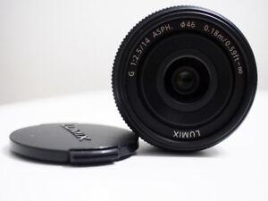 Panasonic 14mm 2.5 (m4/3)