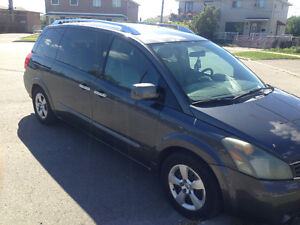 2007 Nissan Quest 3.5 L  Only 169000 km Contact 647-985-3796