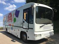 2009 09 Iveco Eurocargo 100e21 mobile liabary, ideal motorhome conversion