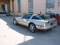 1986 Corvette Lots of Upgrades