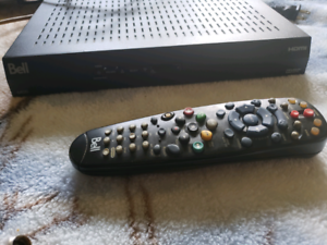 Bell pvr and hd box (with remotes)