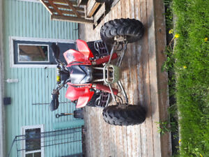 Mint 2004 trx450r for trade