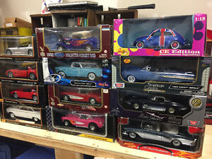 1/18 scale toy cars 20.00 each