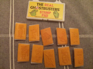 Kenner The Real Ghostbusters Stamp Pad $15
