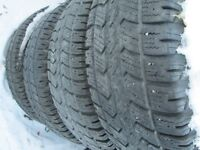 4---LT265/75R16 Arctic Claws---10 ply