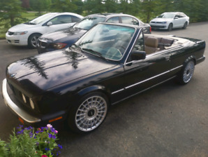 FS: 88 BMW 325I CONVERTIBLE E30 - Refreshed and upgraded